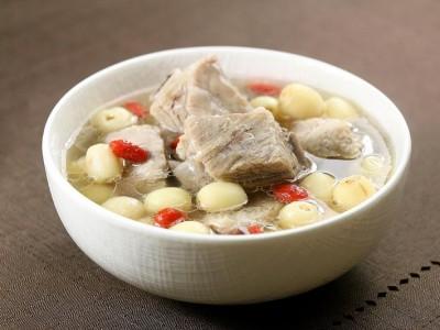 食譜-蓮子排骨湯