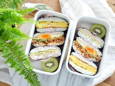 食譜-清涼一夏!美味海苔飯糰便當 3款