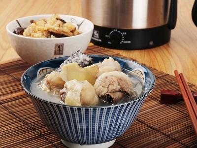 食譜-麻油雞湯&蒸油飯