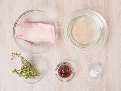 食譜-法式油封鴨佐無花果醬汁