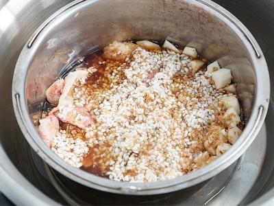 食譜-竹筍雞肉炊飯