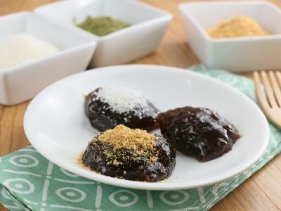 食譜-黑糖涼糕佐黃豆粉