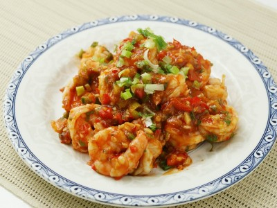 食譜-乾燒蝦仁