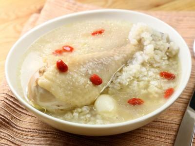 食譜-糙米燉雞湯