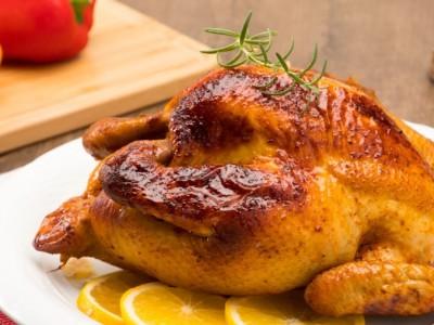 食譜-果香風味烤全雞