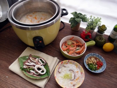 食譜-在家也能爭海鮮? 一次享有兩種美味【蒸海鮮+鮮味精華粥】