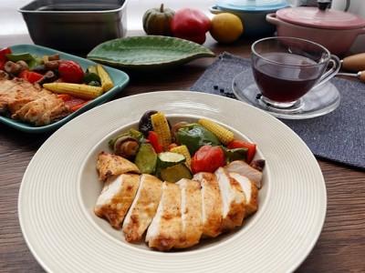 食譜-減醣料理-氣炸雞胸肉麻婆口味