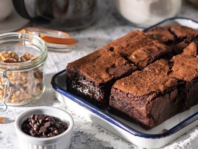 食譜-巧克力布朗尼