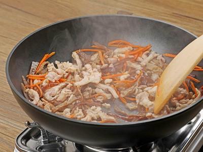 食譜-木須炒肉絲