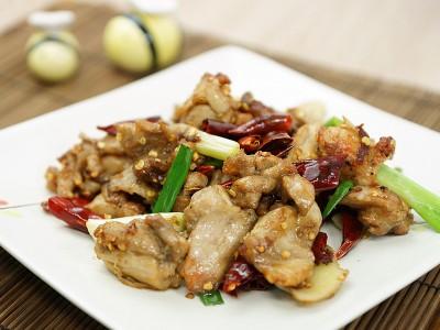 食譜-川味椒麻炒雞丁