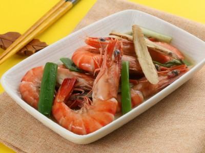 食譜-麻油當歸燒酒蝦