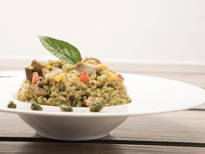 食譜-青醬雞肉燉飯