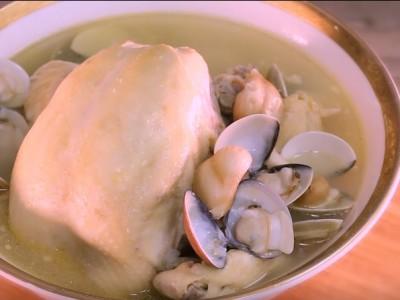 食譜-【阿芳廚房】蒜頭蛤蜊雞湯