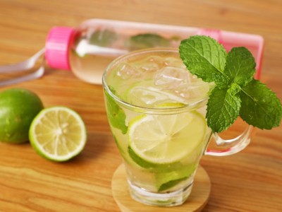 食譜-冷泡薄荷檸檬綠
