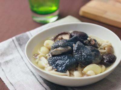 食譜-什錦菇燉蒜頭雞