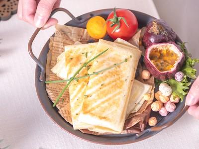 食譜-玉米起司蛋餅