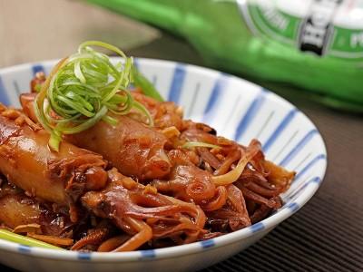 食譜-醬燒小卷