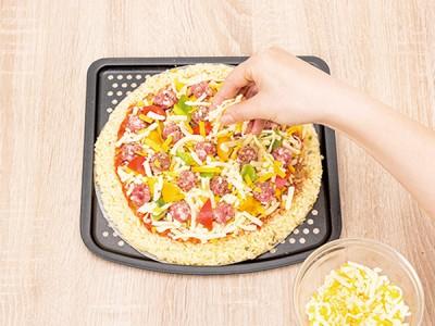 食譜-米披薩