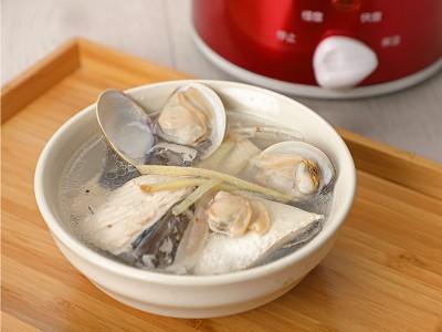食譜- 蛤蜊虱目魚肚湯