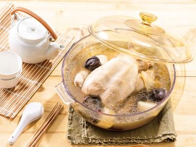 食譜-山藥全雞湯