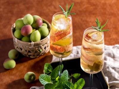 食譜-蘋果梅酒氣泡飲