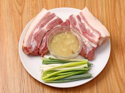 食譜-蔥香五花肉