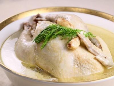 食譜-蒜味雞湯