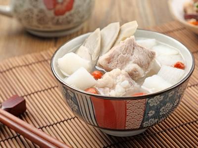 食譜-牛蒡山藥排骨湯
