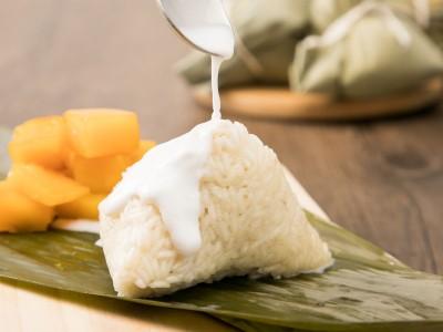 食譜-椰香甜粽