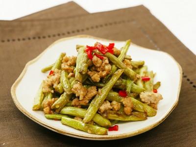 食譜-乾煸四季豆