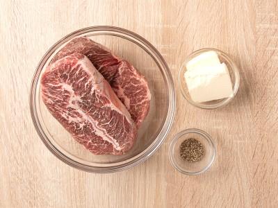 食譜-奶油嫩肩里肌牛排