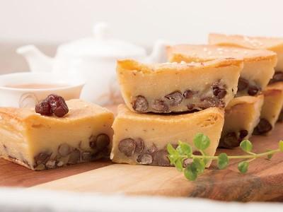 食譜-低脂年糕-酥烤紅豆年糕
