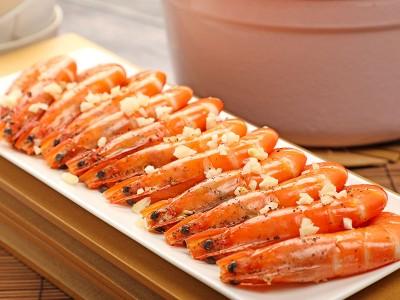 食譜-蒜蓉鮮蝦