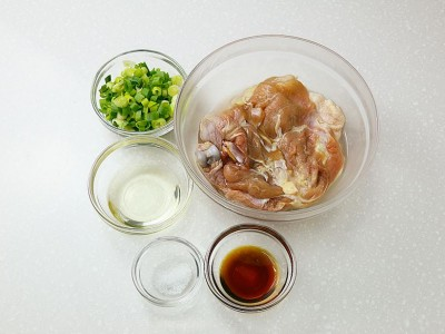 食譜-蔥油雞
