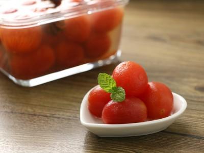 食譜-蜂蜜漬番茄