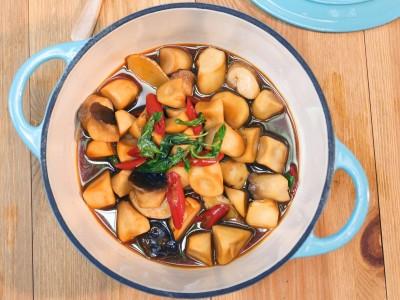 食譜-三杯杏鮑菇