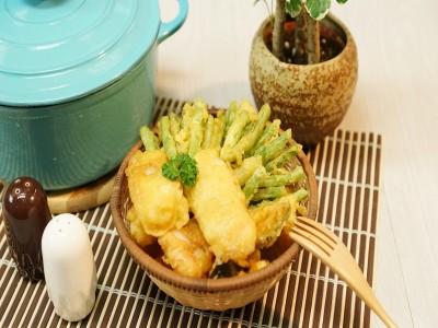 食譜-啤酒酥炸魚條&蔬菜天婦羅