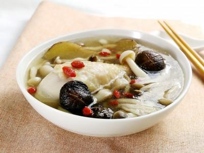 食譜-養生菇菇雞湯