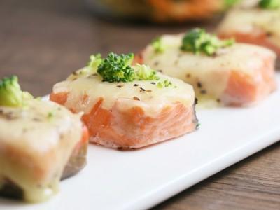 食譜-法式乳酪鮮鮭魚