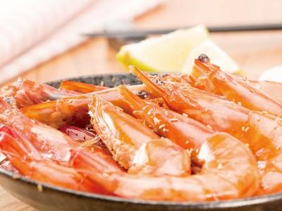 食譜-迷迭香烤蝦