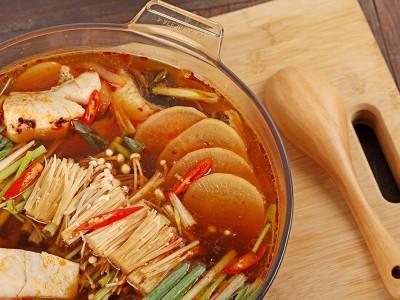 食譜-辣魚蘿蔔湯