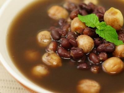 食譜-茯苓紅豆蓮子湯