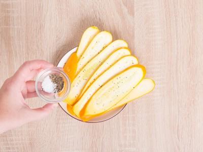 食譜-烤櫛瓜佐巴薩米克醋
