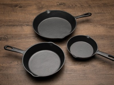 食譜-生鐵鑄鐵鍋的開養鍋小技巧
