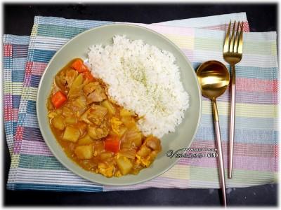 食譜-一鍋到底的超入味電鍋雞肉咖哩【電鍋料理】