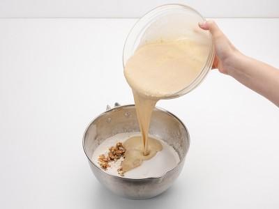 食譜-香蕉核桃蛋糕