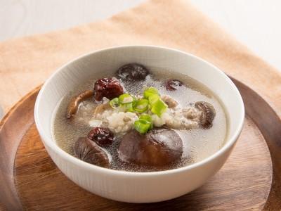 食譜-紅棗香菇粥