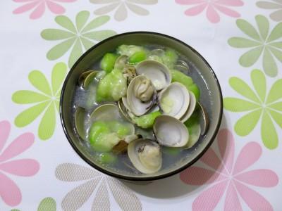 食譜-蛤蜊絲瓜(鍋寶IH電子鍋)