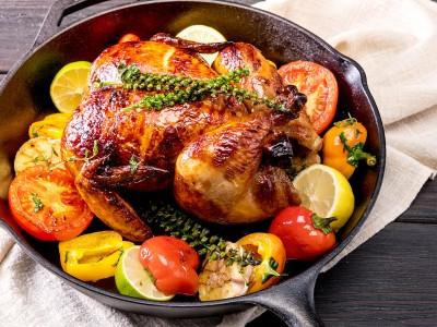 食譜-烤全雞