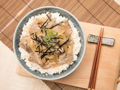 食譜-牛丼